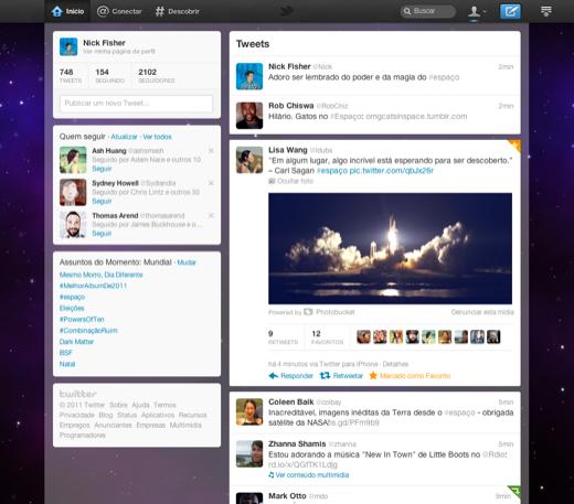 Novo Twitter 1
