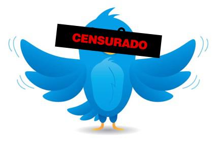 Twitter-censura