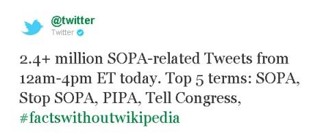 twitter SOPA PIPA
