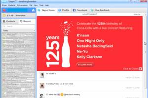 Microsoft_plataforma Skype Midia Coca Cola