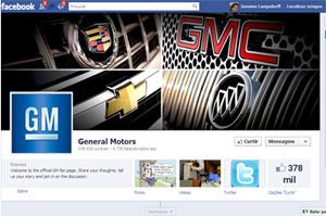 GM Facebook Publicidade