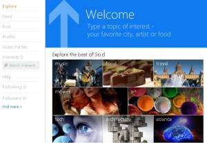 socl-rede social Microsoft