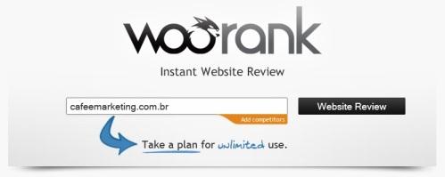 Logo WooRank Título