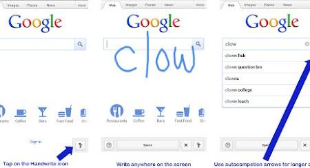 Google busca escrita a mão 2